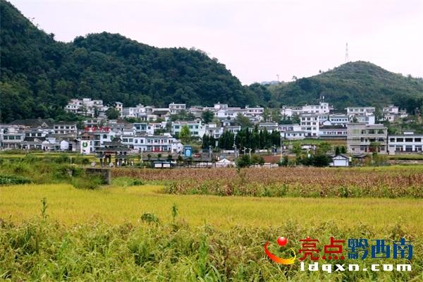 """贞丰对门山村:一个贫困村的美丽""""蝶变"""""""