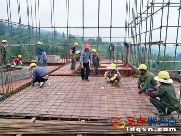 晴隆县城拓展区(沙子镇)安置点项目建设有序推进