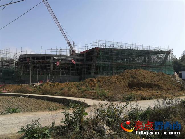 普安铜鼓山遗址保护利用设施一期工程紧锣密鼓进行