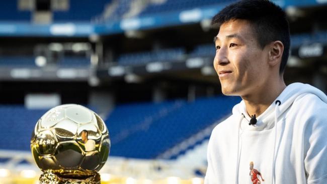 西媒:武磊将获2019中国金球奖 凭在西甲表现获奖