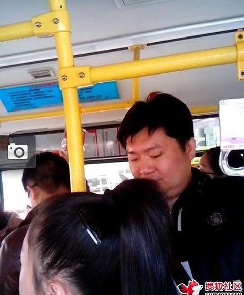 常德/公车上遇猥琐大叔 动手动脚不老实