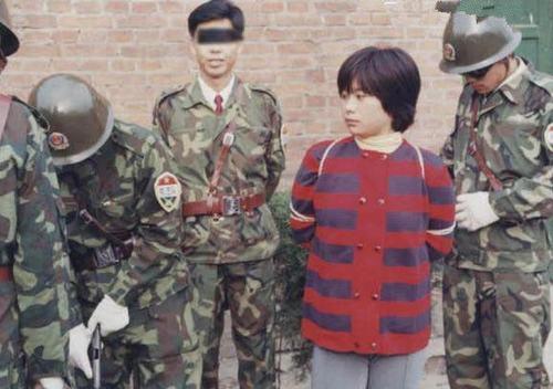 中国十大美女刑犯