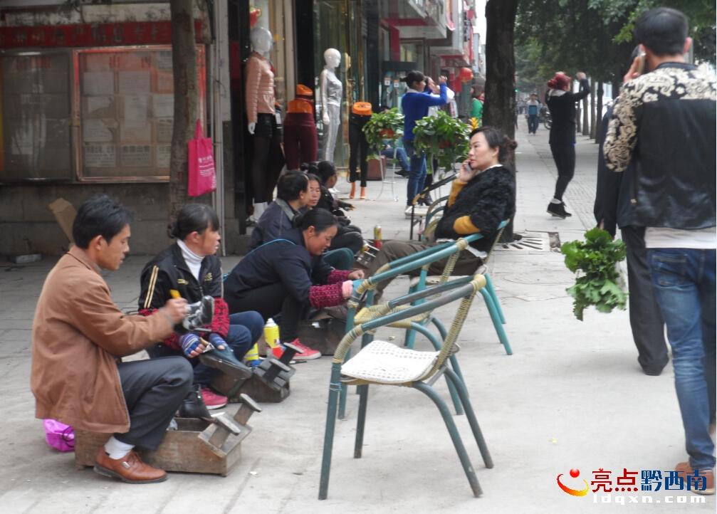 上星光外地擦鞋人在赤峰过春节擦双鞋价钱由图纸兴义1百名号楼天地图片
