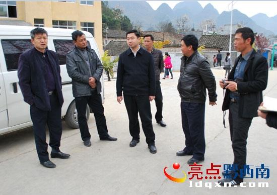 邓麟宇副市长到敬南镇调研开学工作