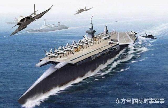 """中国最神秘艘航母突然遭曝光:""""惊呼""""中国太可怕了.."""