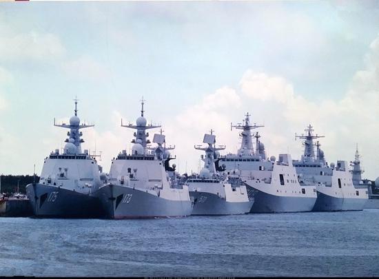 军媒罕见透露中国海军扩编进展 最强驱逐舰支队曝光