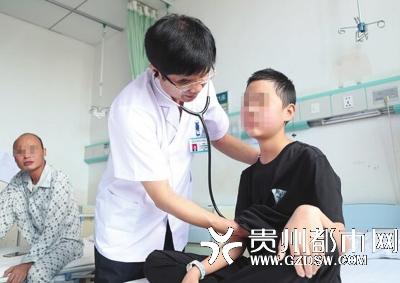 """贵州首例儿童""""换心""""手术成功 12岁患者昨日康复出院"""