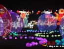 贞丰:三岔河彩灯绚丽绽放迎春客 灯光节持续到3月10日