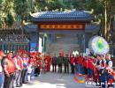 安龙县义工联合会组织开展烈士陵园扫墓活动
