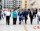 全国政协常委、台盟中央副主席杨健一行赴兴义一中调研