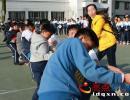 兴义四中在第二十七届校运会期间开展丰富多彩的文体活动