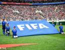 世界杯开幕式的中国元素 6名贵州小球童亮相护旗