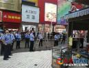 """兴义一女商户违建侵占人行道还以""""自杀""""阻碍执法 被行拘"""