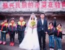 兴义乡村女教师婚纱照火了 人民日报、央视新闻等都转发了